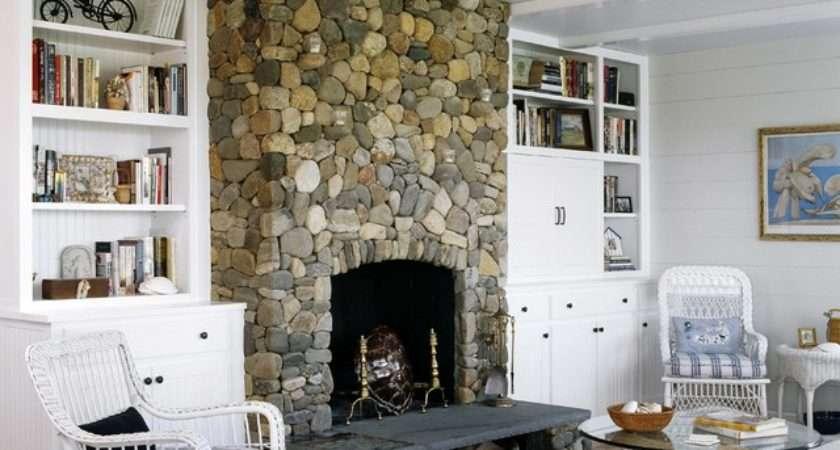 Cottage Beach Style Living Room Boston Cbrd