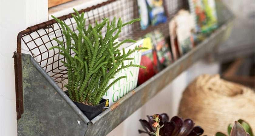 Cottage Fresh Storage Ideas