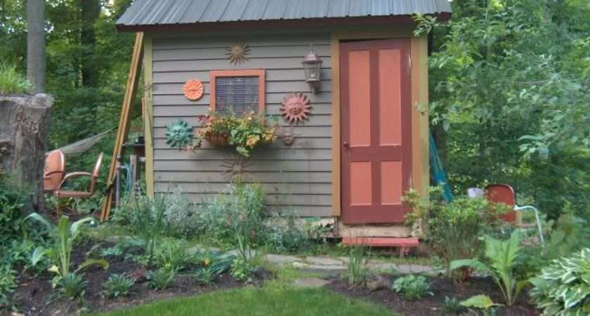 Cottage Garden Sheds Potted Plants All Seasons
