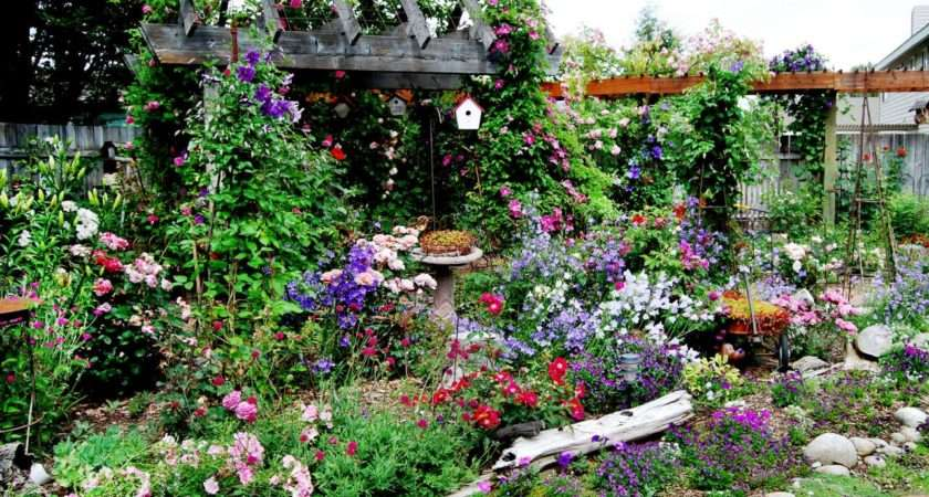 Cottage Gardens Love Landscaping Ideas Hardscape
