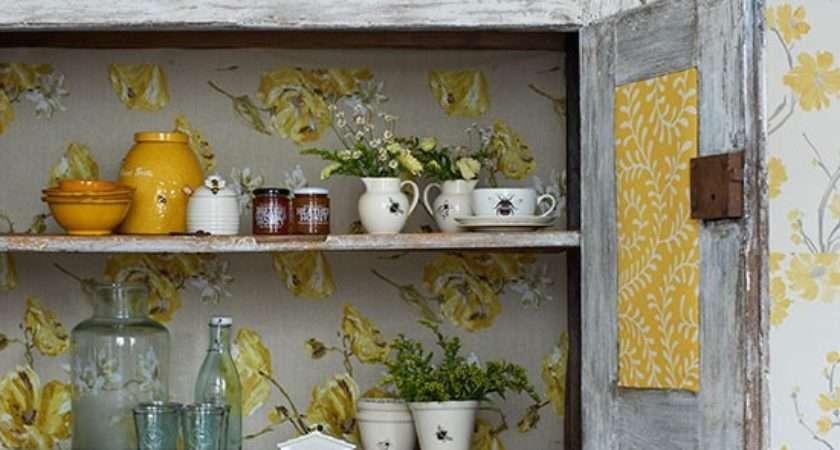 Cottage Kitchen Cupboard Country Storage Ideas