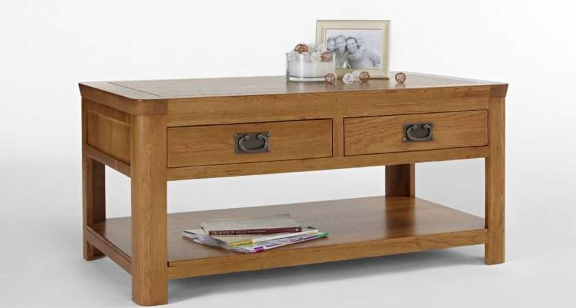 Country Cottage Oak Coffee Table Hampshire Furniture
