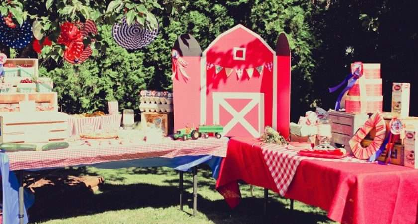 Country Fair Birthday Party Guest Feature Celebrations