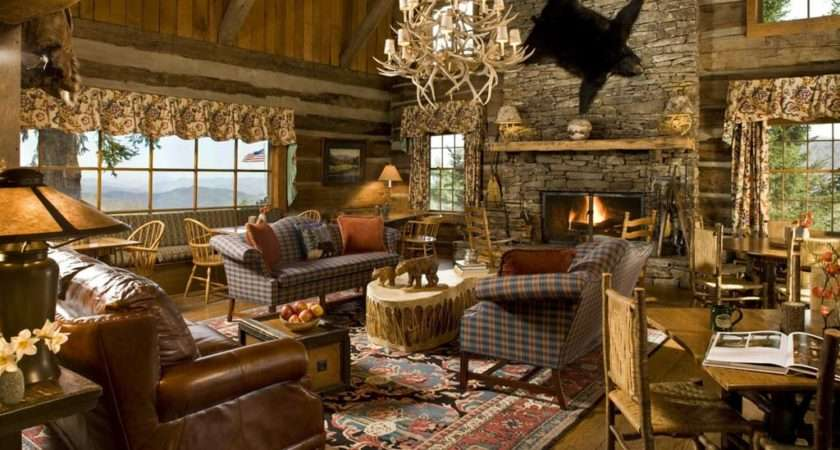 Country Home Interior Design Architecture