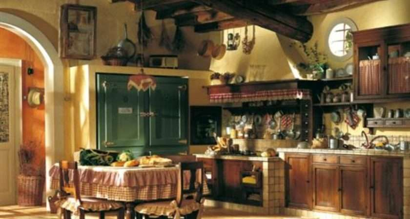 Country Home Interiors Kitchens