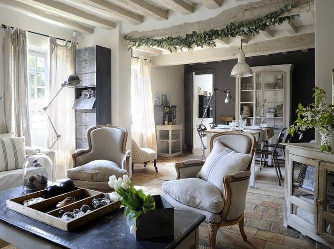 Country Homes Industrial House France Melina Divani