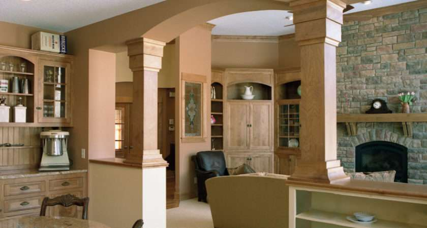 Country House Plan Great Room