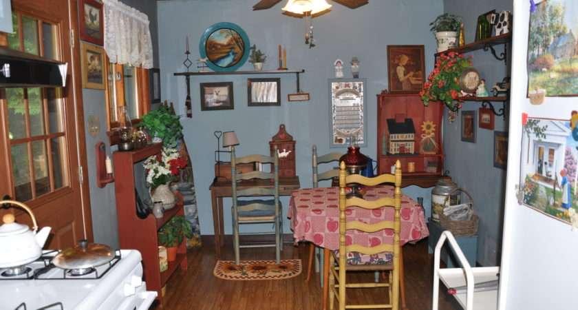 Country Kitchen Decor Ranch House Homespun