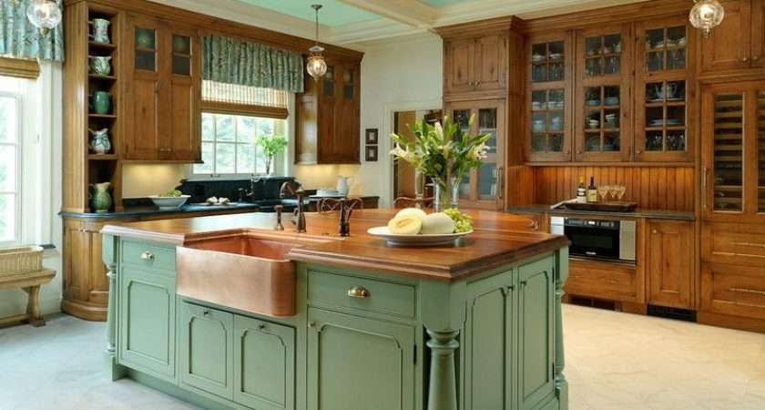 Country Kitchen Island Designs Home Designing