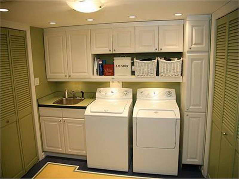 Country Laundry Room Decor Ideas Small Space