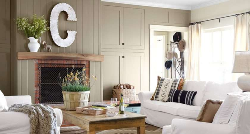 Country Living Room Appears Appealing Interior Designoursign