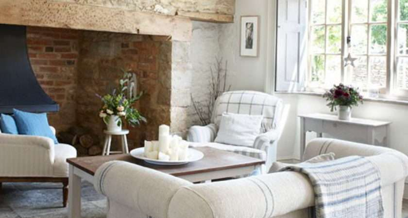 Country Living Rooms Decorating Ideas Home