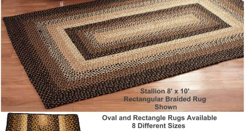 Country Rugs Stallion Oval Style Ihf Braided Rug