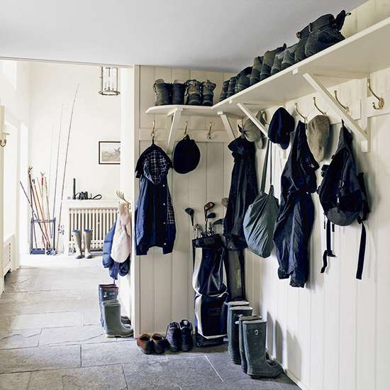 Country Style Boot Room Designs