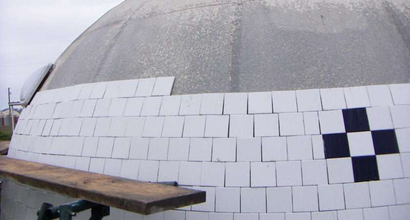 Cover Monolithic Dome Tile Rock