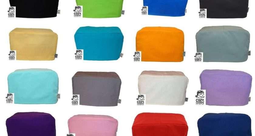Cozycoverup Toaster Dualit Dust Cover Plain Colours