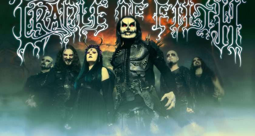 Cradle Filth Band Textile Poster