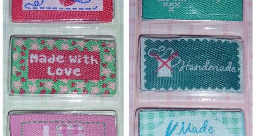 Craft Fabric Labels Handmade Made