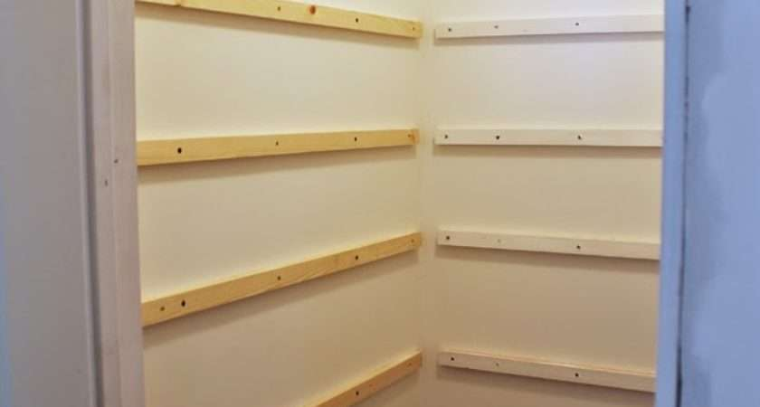 Craft Patch Build Pantry Shelving