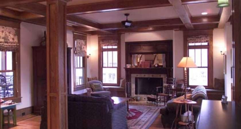 Craftsman Home Interiors Bungalow Style Homes Interior