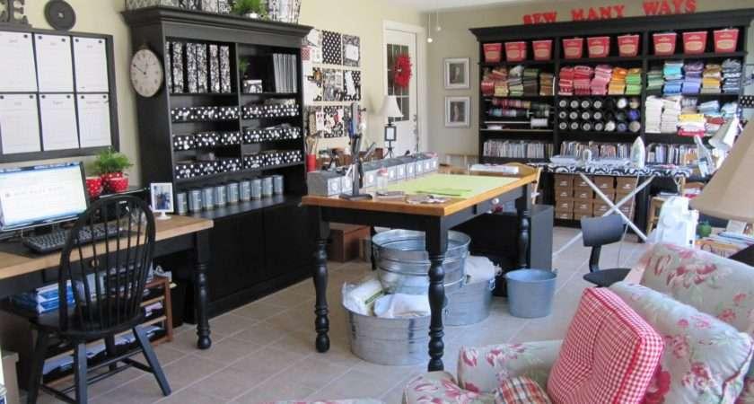 Crafty Storage Karen Sewing Craft Room