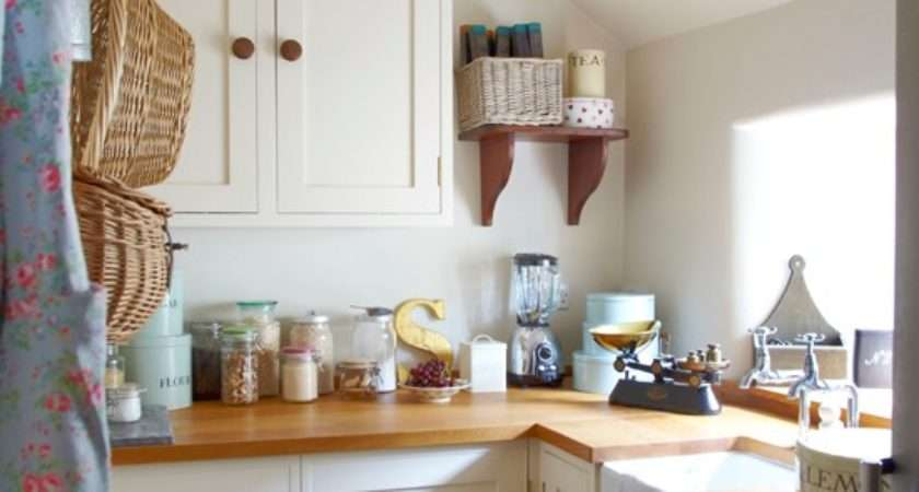 Cream Country Style Kitchen Housetohome