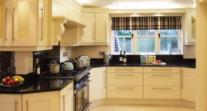 Cream Kitchen Cabinets Warm Colors Cozy Atmosphere