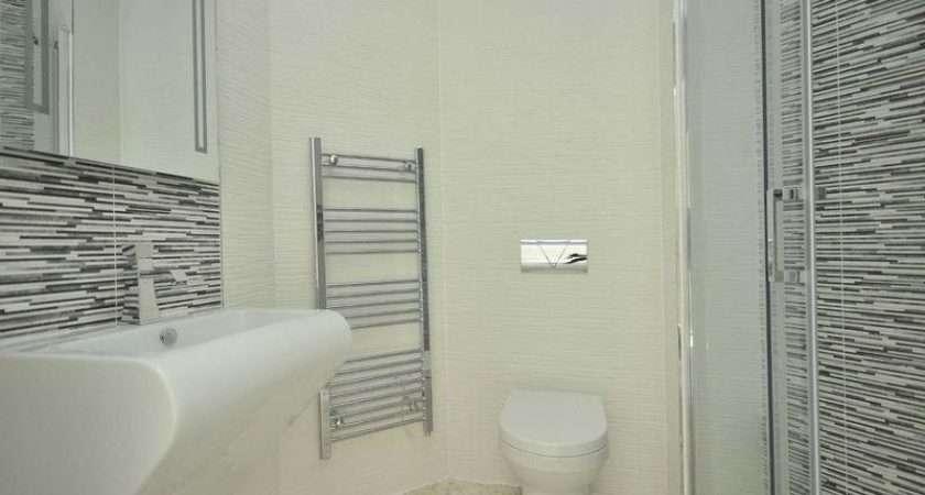 Cream White Shower Room