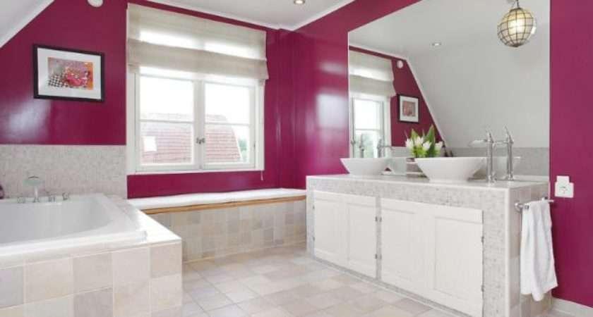 Create Feminine Bathroom Interior Cor