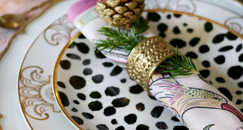 Create Glam Christmas Table Setting Budget