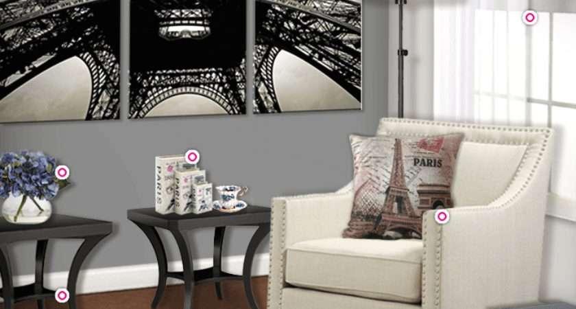 Create Paris Themed Living Room Authentic