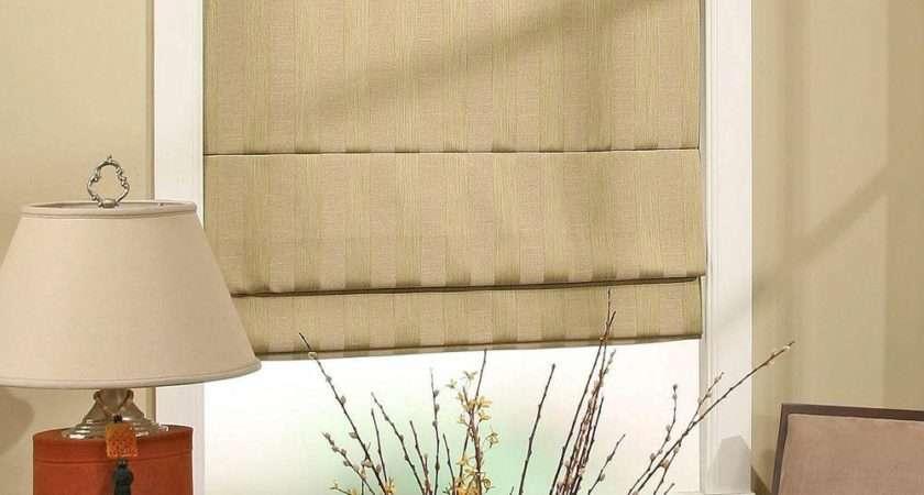Create Peaceful Ambient Roman Shades Interior