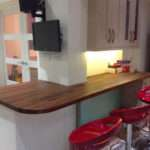 Create Wooden Breakfast Bar