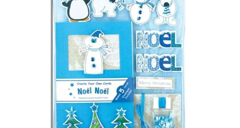 Create Your Own Christmas Cards Box Kit Noel