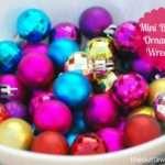 Creative Christmas Countdown Mini Bauble Ornament Wreaths