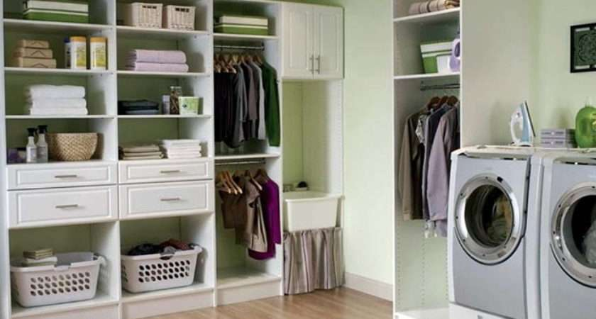 Creative Clever Laundry Storage Ideas Small Spaces