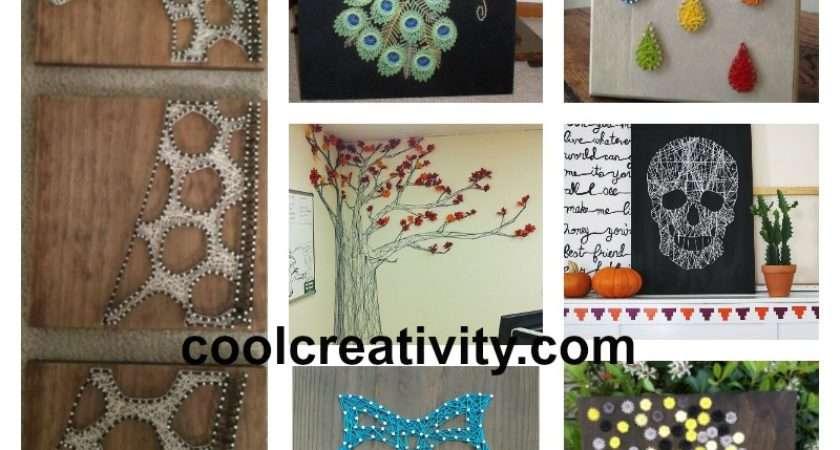 Creative Diy String Art Project Ideas