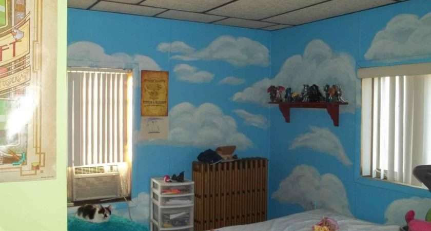 Creative Painting Ideas Kids Bedrooms Athelred