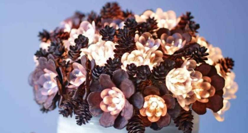 Creative Pinecone Crafts Your Holiday Decorations
