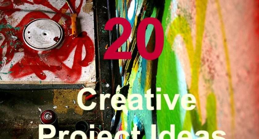 Creative Project Ideas Reawaken Your Right Brain