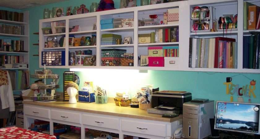 Creative Shelving Ideas Small Craft Room