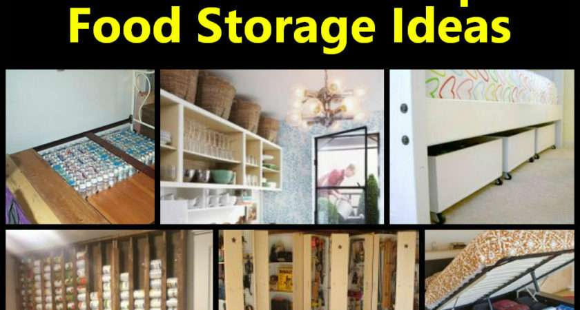 Creative Small Space Food Storage Ideas