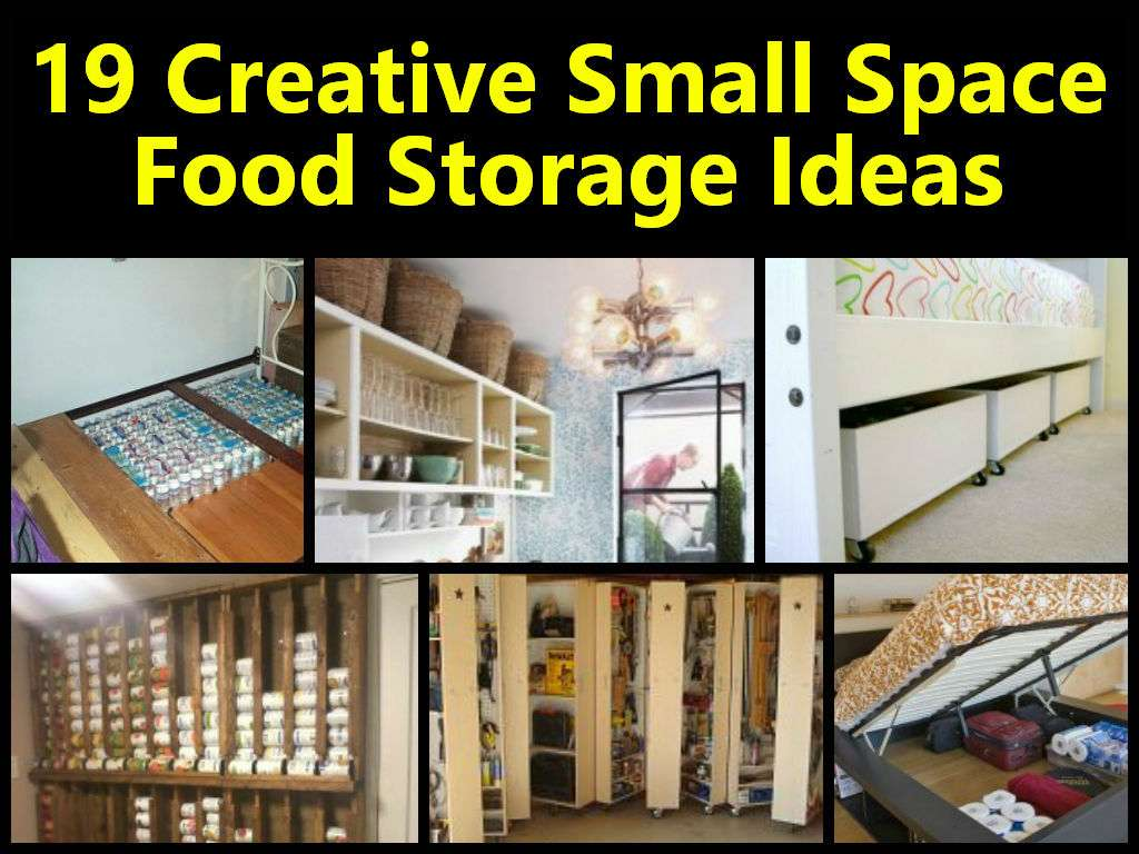 Creative Small Space Food Storage Ideas Creative Small Space Food Storage Ideas Lentine Marine