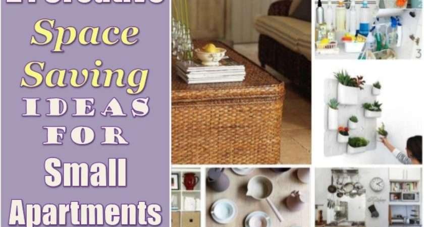 Creative Space Saving Ideas Small Apartments