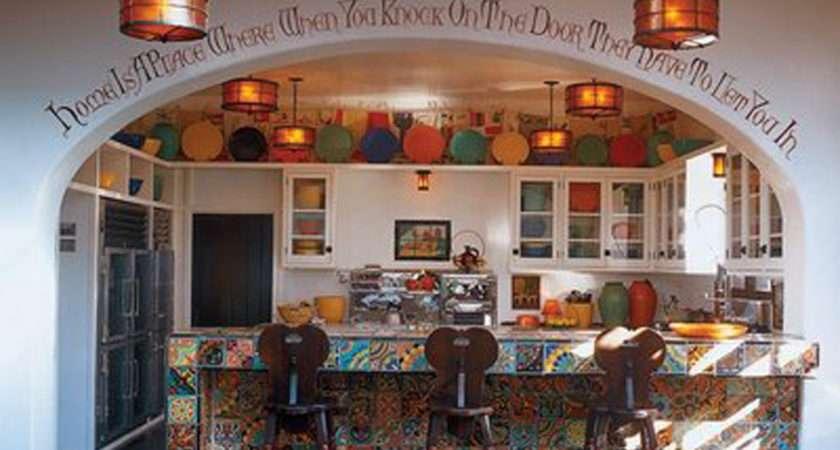 Creative Spanish Kitchen Decor