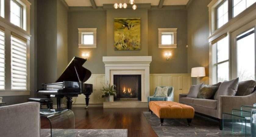 Creative Ways Decorate Living Room Piano