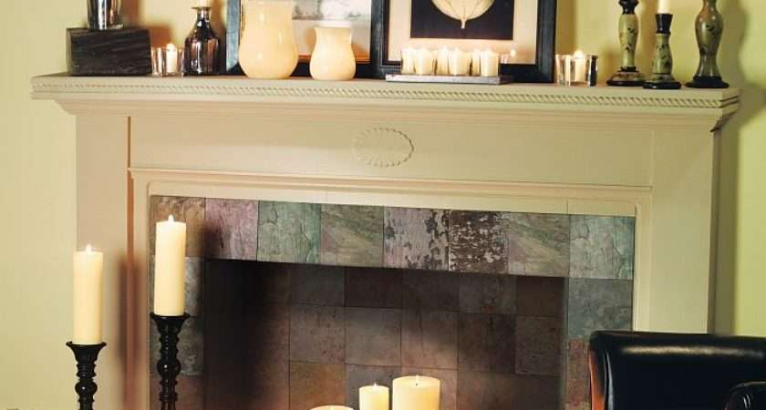 Creative Ways Decorate Your Fireplace Off Season