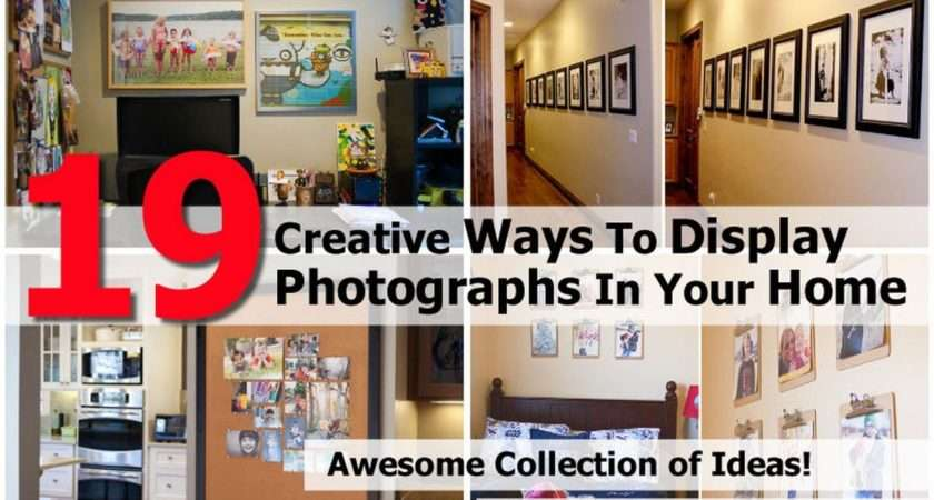 Creative Ways Display Photographs Your Home