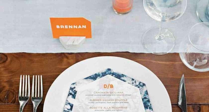 Creative Ways Set Your Reception Tables Martha