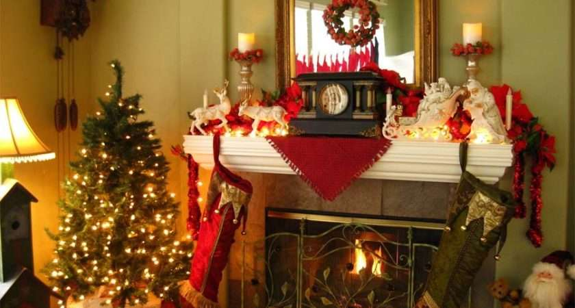 Creativity Decorate Your Fireplace Mantle Christmas